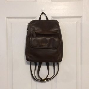VINTAGE ROSETTI LEATHER PERSONAL BACKPACK